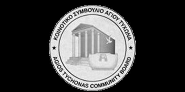 Agios Tychonas Community Board logo
